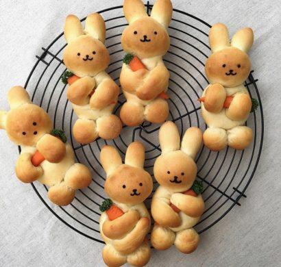 pâtisserie lapin de pâques