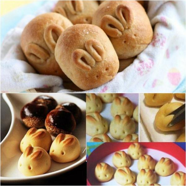 Pâtisserie lapin de Pâques - recettes faciles et beaucoup d'idées dit mini lapins de pâques en pâte
