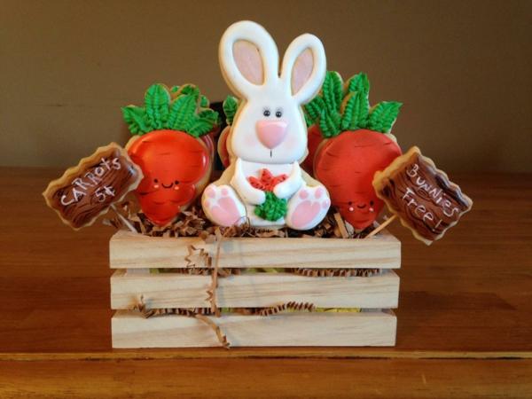Pâtisserie lapin de Pâques - recettes faciles et beaucoup d'idées diy biscuit lapin