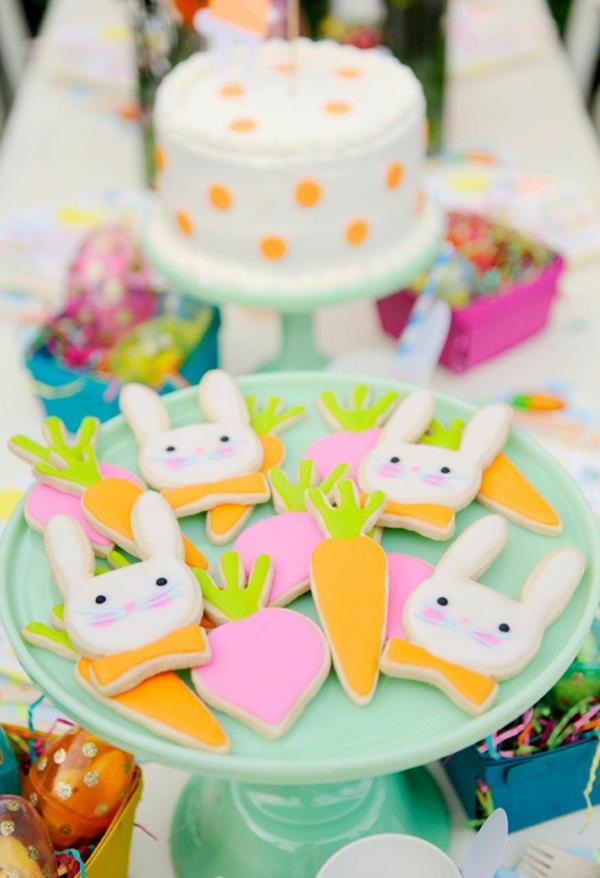 Pâtisserie lapin de Pâques - recettes faciles et beaucoup d'idées diy biscuits pâques lapins