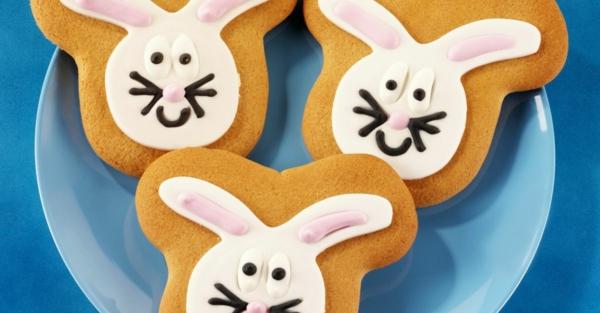 Pâtisserie lapin de Pâques - recettes faciles et beaucoup d'idées diy lapin de pâques biscuit aux épices