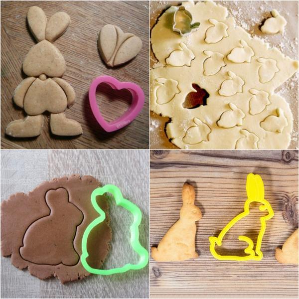 Pâtisserie lapin de Pâques - recettes faciles et beaucoup d'idées diy lapins de pâques moules
