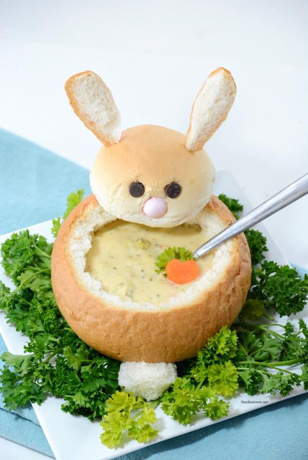 Pâtisserie lapin de Pâques - recettes faciles et beaucoup d'idées diy petit pain avec farce
