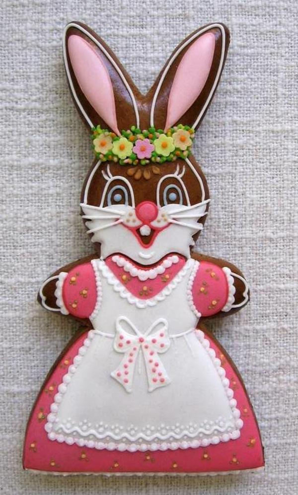 Pâtisserie lapin de Pâques - recettes faciles et beaucoup d'idées idée de biscuit pâques lapin avec glaçage