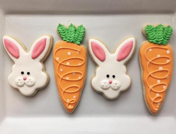Pâtisserie lapin de Pâques - recettes faciles et beaucoup d'idées idée de gâteau biscuit lapin de pâques