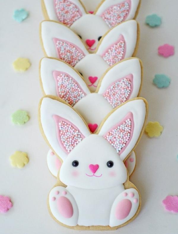 Pâtisserie lapin de Pâques - recettes faciles et beaucoup d'idées idée recette dessert biscuit lapin