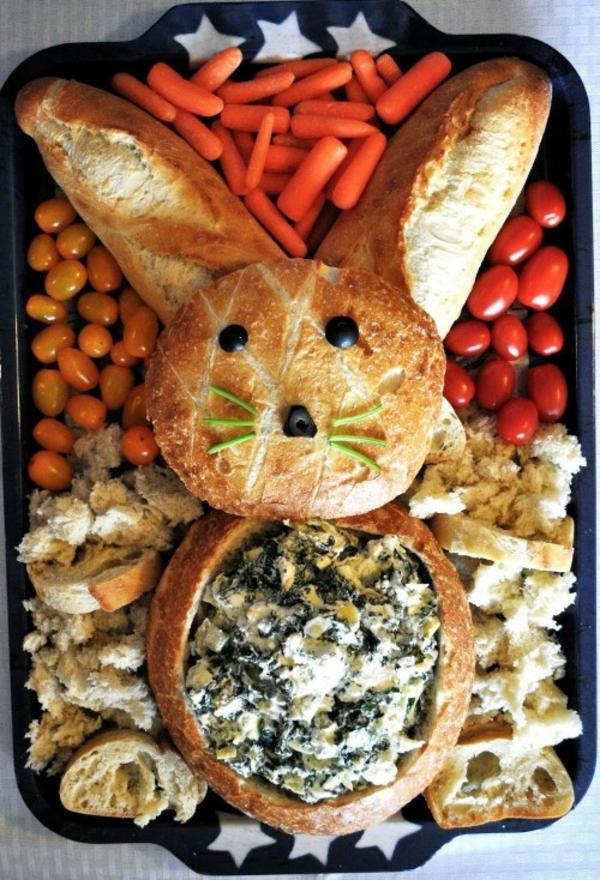 Pâtisserie lapin de Pâques - recettes faciles et beaucoup d'idées petit pain lapin de pâques farce