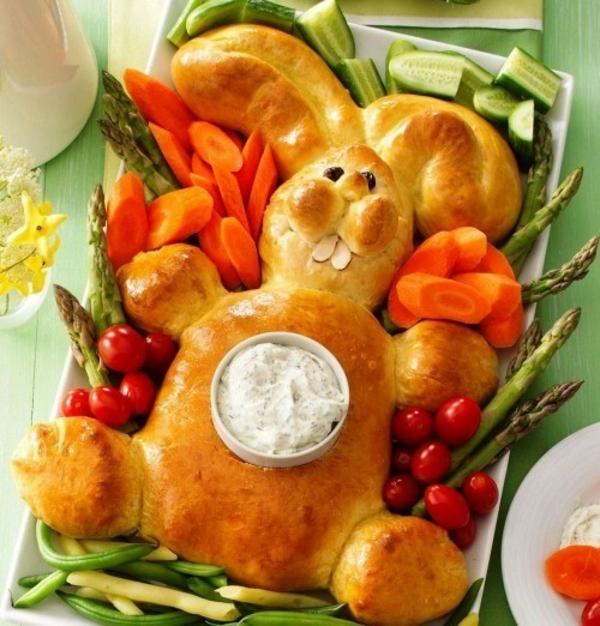 Pâtisserie lapin de Pâques - recettes faciles et beaucoup d'idées petit pain lapin de pâques sauce