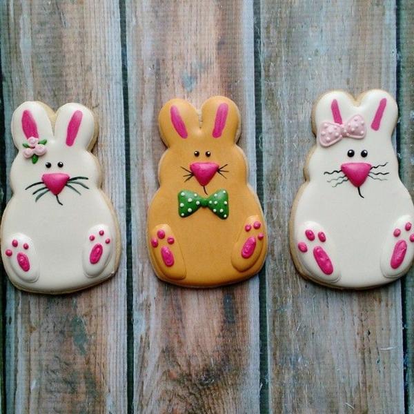 Pâtisserie lapin de Pâques - recettes faciles et beaucoup d'idées recette de biscuits lapins