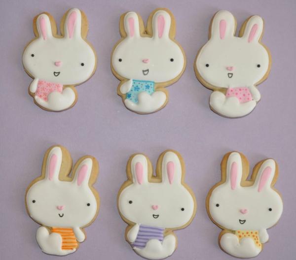 Pâtisserie lapin de Pâques - recettes faciles et beaucoup d'idées recette petits lapins de pâques biscuits