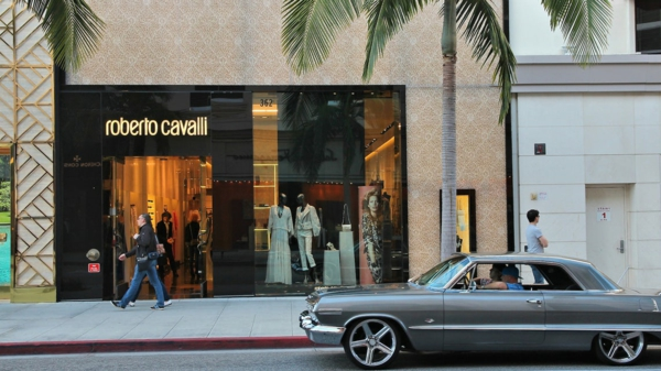Roberto Cavalli magasin Beverly Hills
