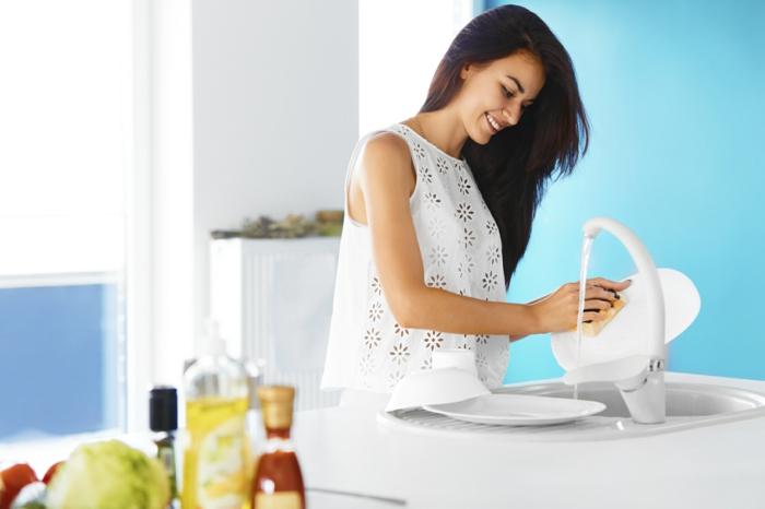 faire briller la vaisselle avec coquille d' oeuf