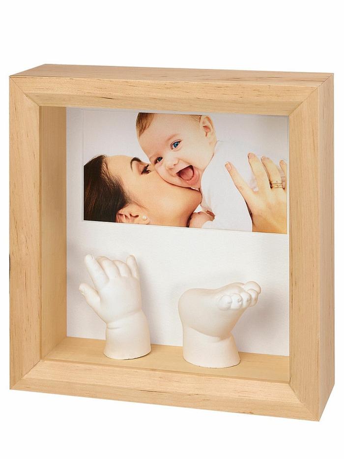 cadeau de naissance original empreintes bébé
