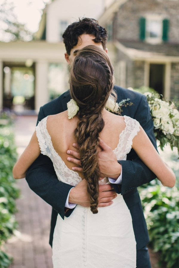 coiffure mariage tresse cheveux longs variété de tresses