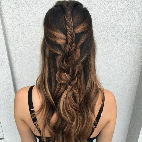 coiffure mariage tresse double