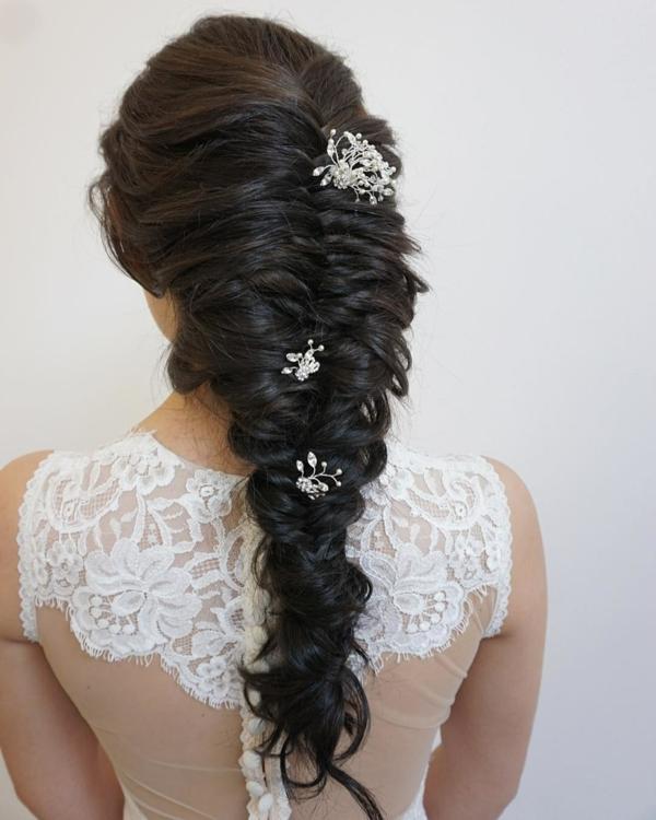 coiffure mariage tresse queue de poisson