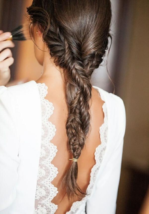 coiffure mariage tresse tresses torsadées
