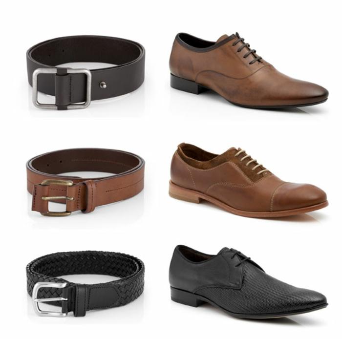 combinaison chaussures ceinture tenue mariage homme