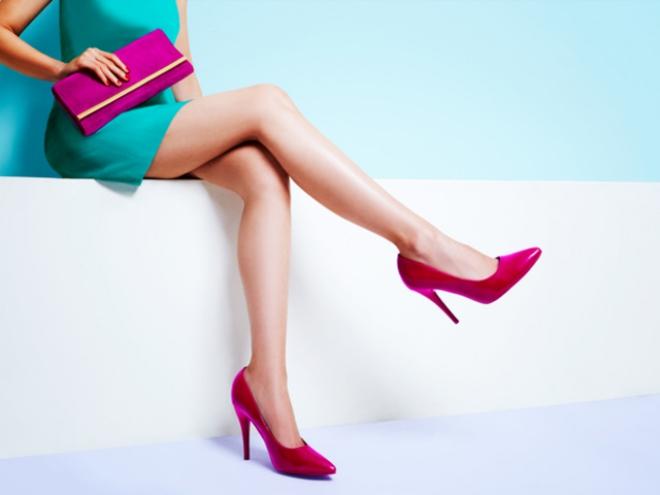 couleurs printemps tendance 2019 chaussures à talons
