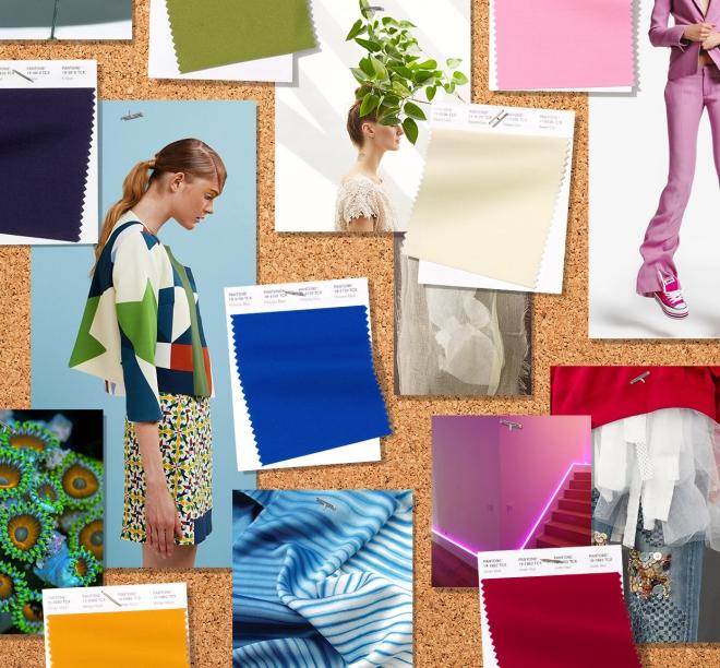 couleurs printemps tendance 2019 nuances du bleu