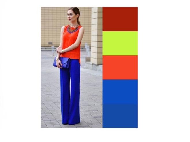 couleurs printemps tendance 2019 orange vif