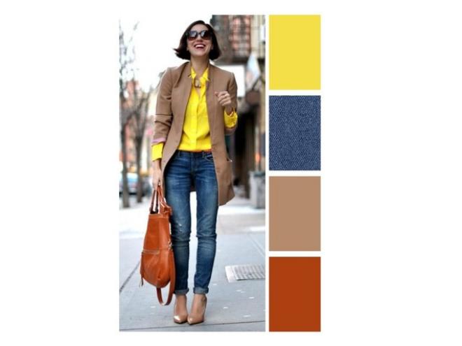 couleurs printemps tendance 2019 tenue quotidienne
