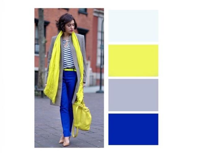 couleurs printemps tendance 2019 trois nuances du bleu