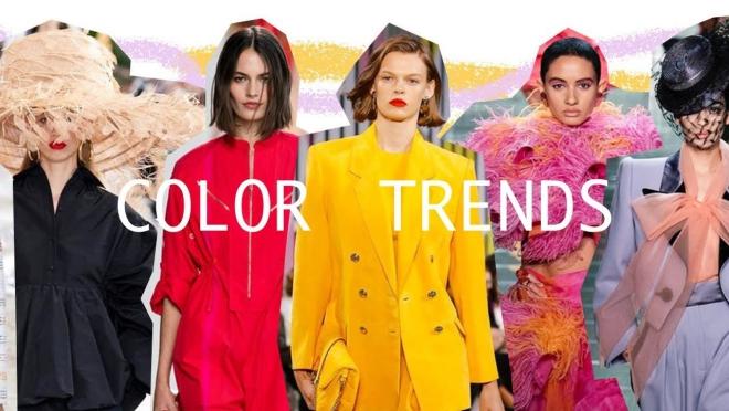 couleurs printemps tendance 2019 zoom sur les tendances