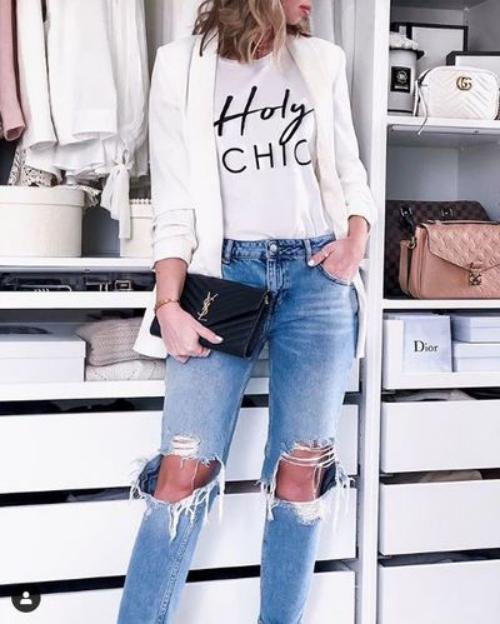 denim jeans chic et élégance