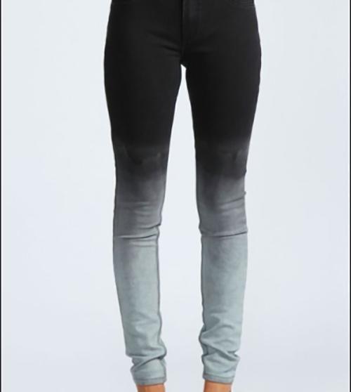 denim jeans deux couleurs
