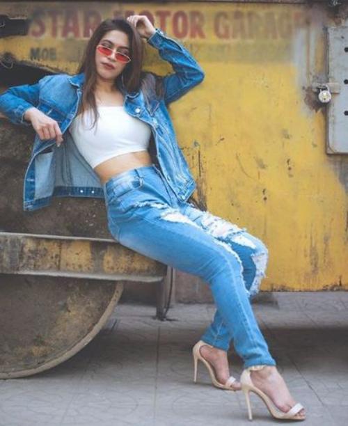 denim jeans ensemble pratique