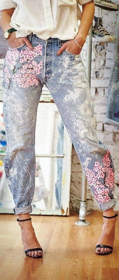 denim jeans modèle original