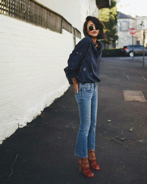 denim jeans simplicité et confort