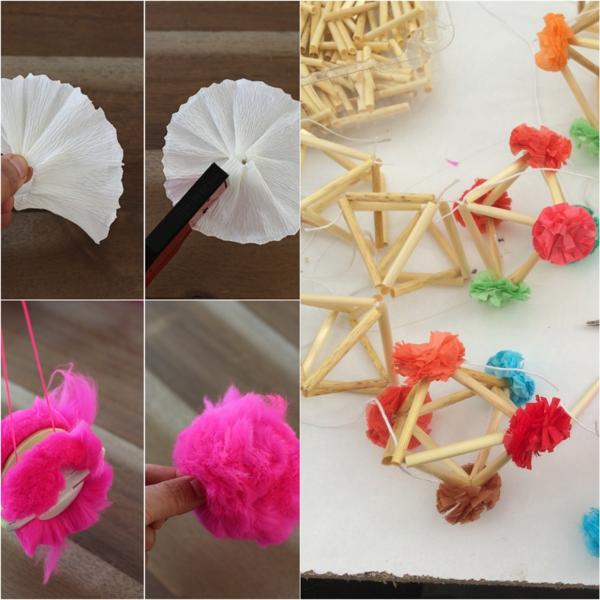 diy suspension pajaki éléments décoratifs
