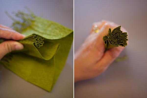 fabriquer une suspension papier deuxième étape