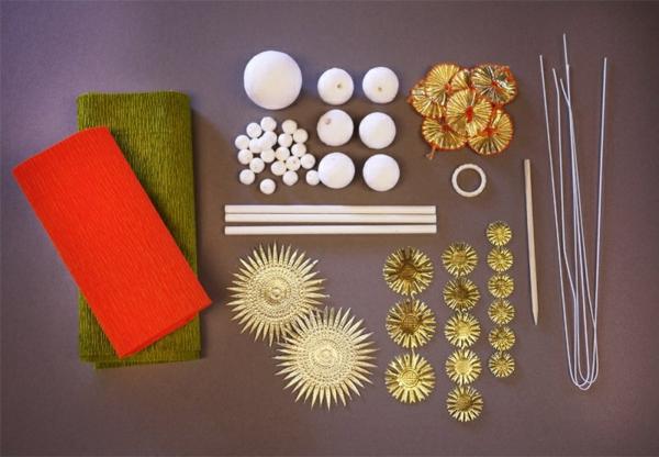 fabriquer une suspension papier matériaux