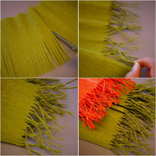 fabriquer une suspension papier première étape