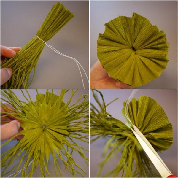 fabriquer une suspension papier troisième étape