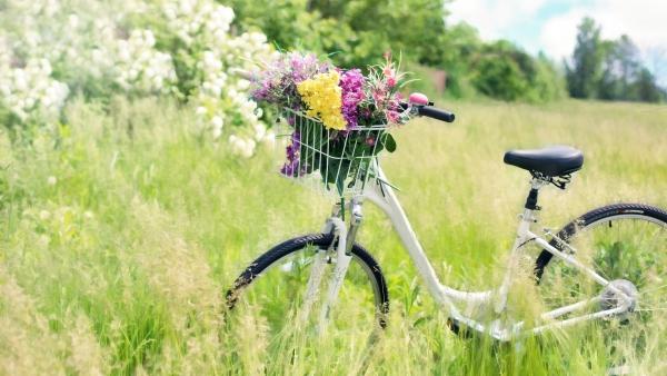 fatigue de printemps promenade à vélo