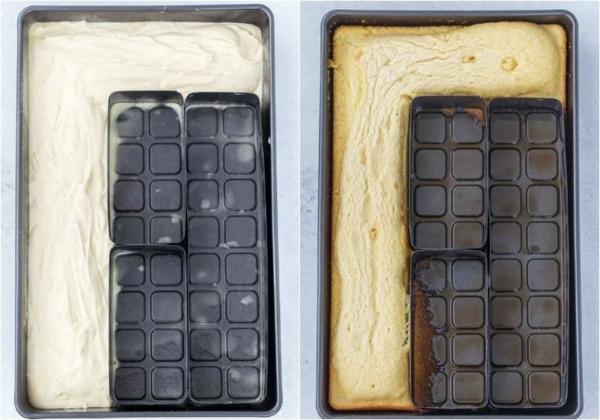 gâteau chiffre anniversaire à préparer en moule