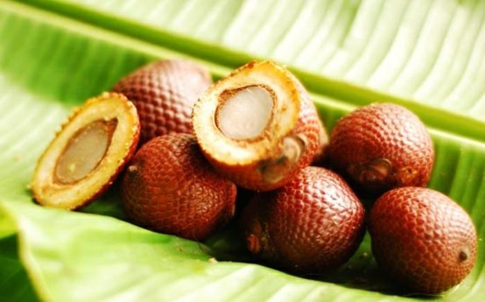 huile de buriti fruits