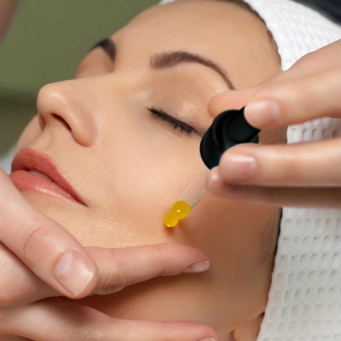 hydrater la peau avec huile de buriti