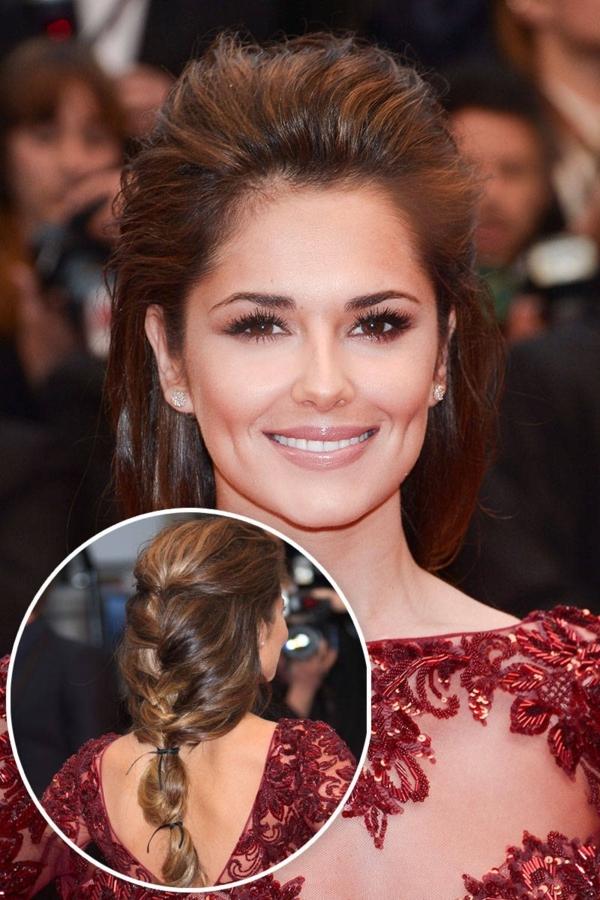 idée de coiffure mariage tresse inspirée de Cheryl Cole