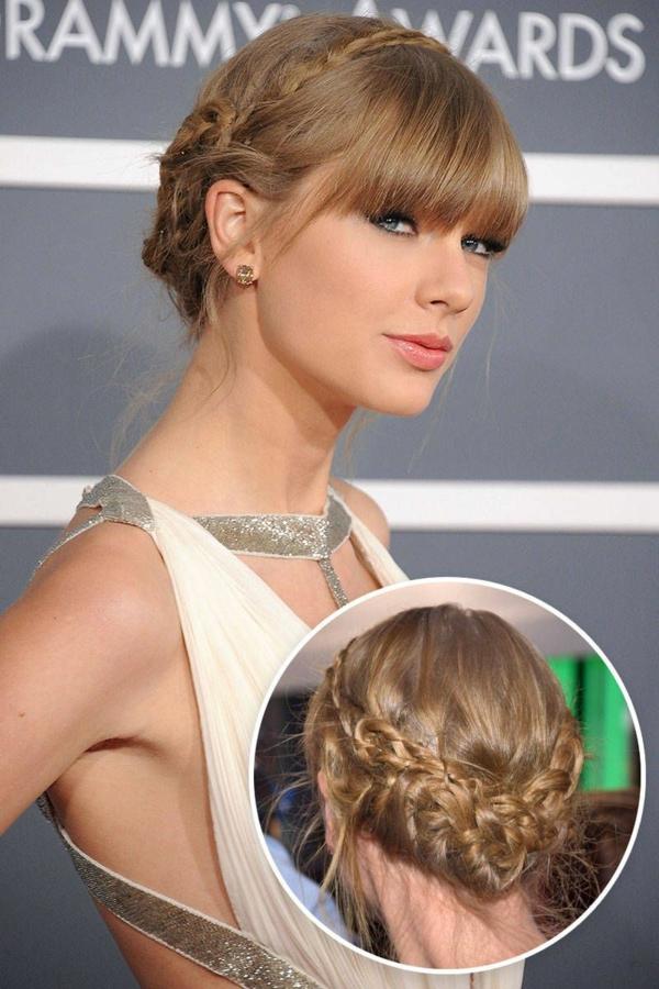 idée de coiffure mariage tresse inspirée de Taylor Swift