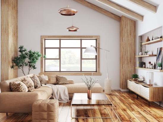 instaurer le bien-être à la maison bois dominant