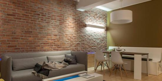 instaurer le bien-être à la maison mur en briques