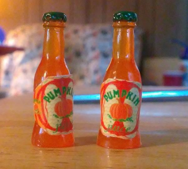 jus citrouille deux bouteillesTitle- jus citrouille sans sucre