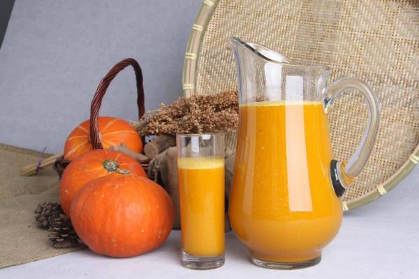 jus citrouille potirons oranges