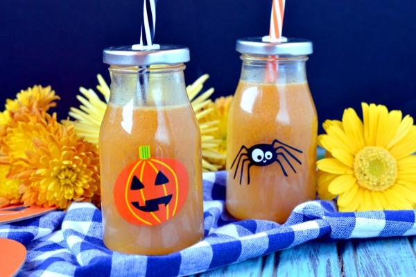 jus citrouille pour la fête Halloween