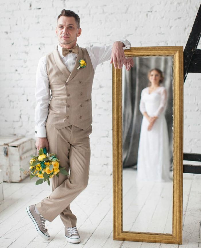 look décontracté tenue mariage homme